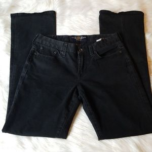 Lucky brand size 4 black the sweet jean boot cut